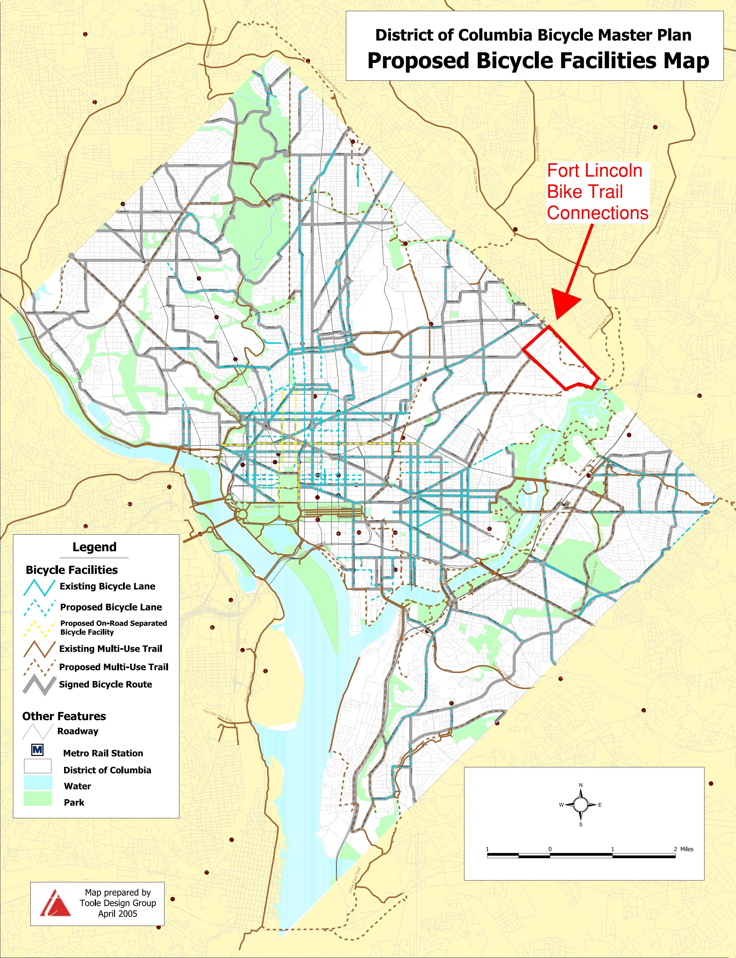 Making Bike Lanes/Trails a Reality in Fort Lincoln