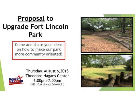 Park Proposal Flyer