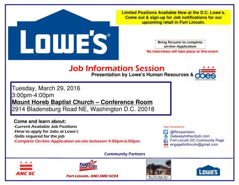 Lowes Flyer full page